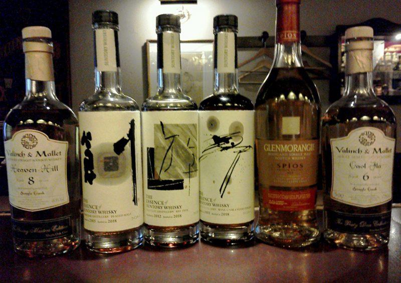 The Essence of Suntory Whisky 白州 Rye Typeなどウィスキーの写真