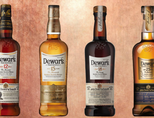 Dewar's Schotch Whisky Bottle Fair